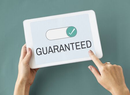 Approved Accepted Guaranteed Authorized Checked Graphic