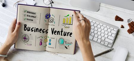 New Business Market Venture Expansion Growth 版權商用圖片