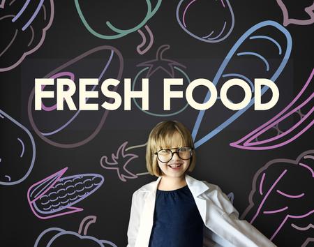 pretending: Healthy Eating Food Lifestyle Organic Wellness Graphic