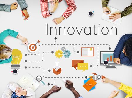 혁신 창조적 인 현대 아이디어 기술
