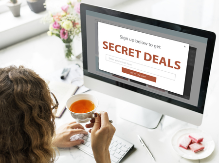Promotion Fare Deal Sale Special Offer Stock Photo