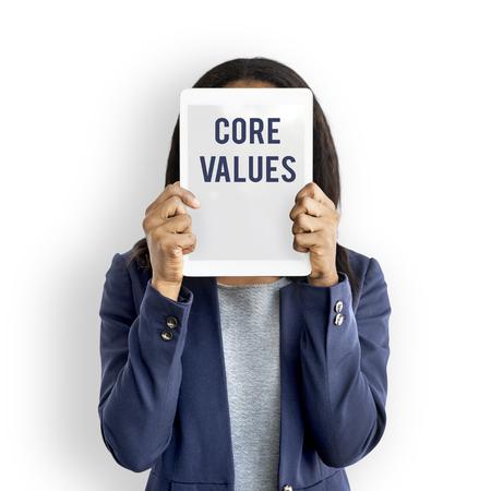 Los valores principales dicen a los jóvenes Foto de archivo - 80274294