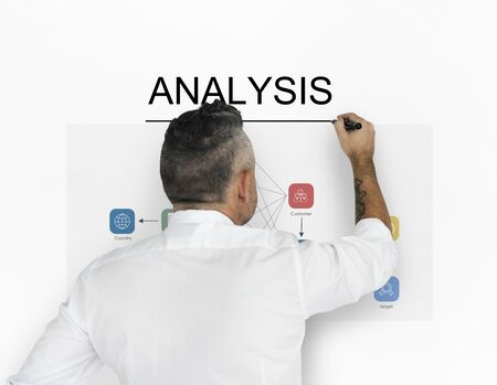 Analysis Strategy Study Information Business Planning Reklamní fotografie - 80259643