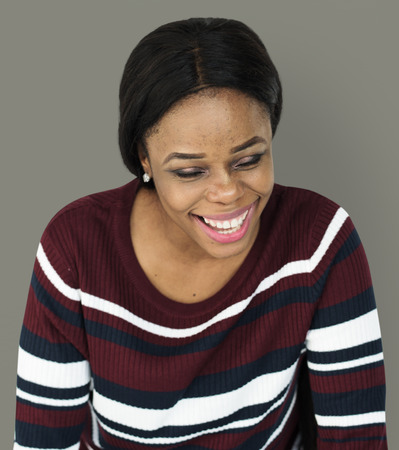 Woman Portrait Smiling Laughing Emotional