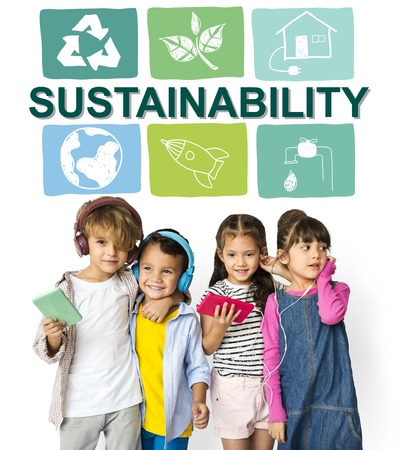 Sustainability Ecology Save Environment Concept Stock fotó - 80188978