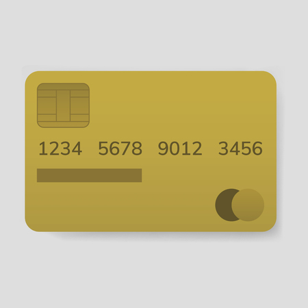 Credit card electronic banking payment vector 向量圖像