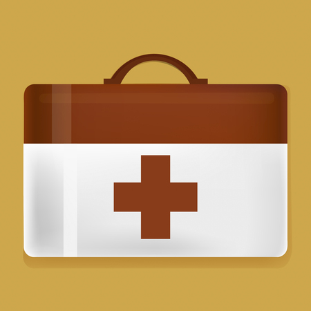First Aid Kit Graphic Illustration Vector Illustration