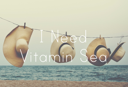 Ocean Breeze Vitamin Word Font