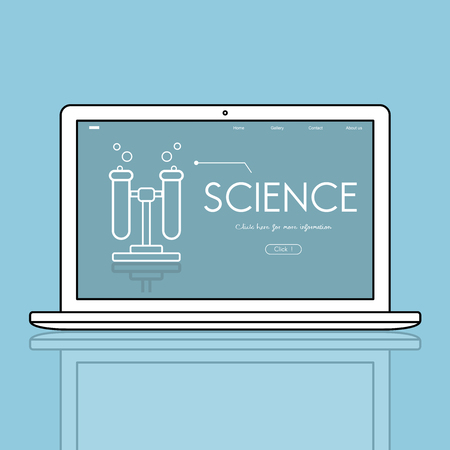 Science Chemistry Experiment Observation DNA Stock Photo