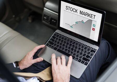 Beurswaardebeurs Economie Investeringsgrafiek