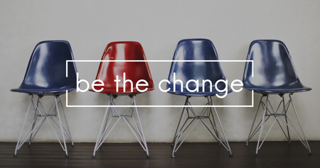 Be The Change Difference Creative Development Business 免版税图像 - 80268979