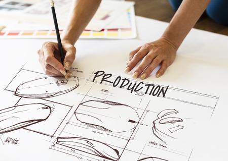 장식 생산 개발 디자인 크리 에이 티브 스톡 콘텐츠