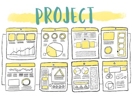 Inhoud Schema-tekening projectschema organiseren