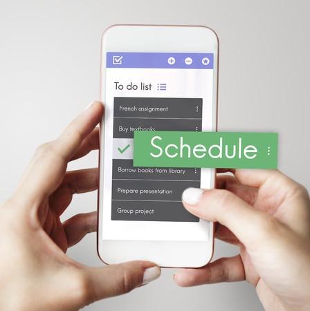 Digitale om te doen lijst App Interface