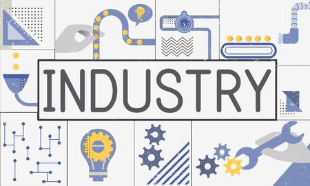 Fabricage Productie Industrie Ideeën Concept
