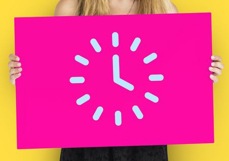 Analog Mechanical Clock Watch Illustration Stock Photo