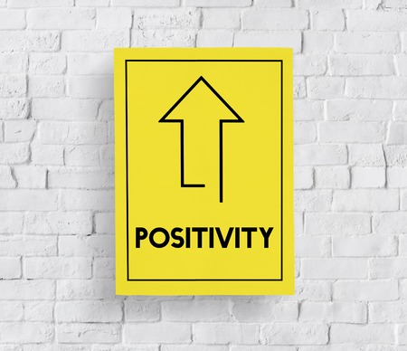 Make It Happen Positivity Attitude Possible Graphic Words Stock Photo
