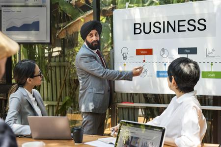 Business Startup Plan Target Stock fotó