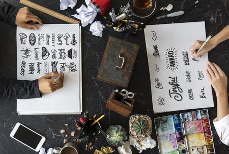 Kalligrafie Ontwerp Typografie Werkplaats