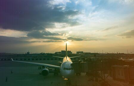 Airport Aircraft Airplane Aviation Transportation Travel 版權商用圖片