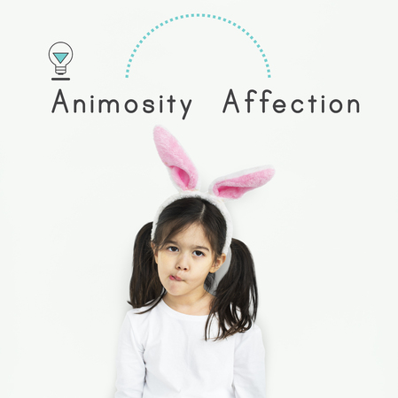 Antonym Opposite Happy Sad Fondness Hatred Animosity Affection Stock Photo - 80275119