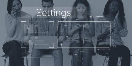 Social Platform Internet Content Graphic Stock Photo