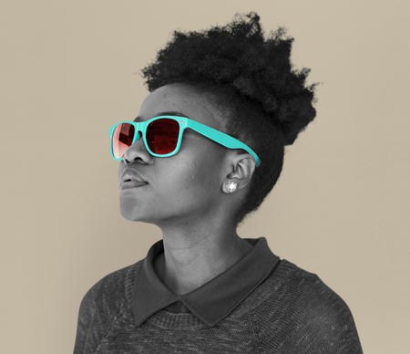 African Descent Female Sunglasses Cool
