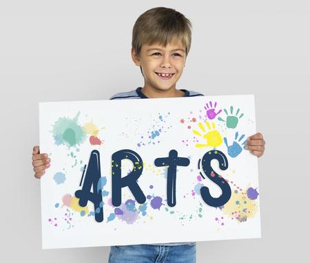 Kunstenaarscreatie Imagination Impression Style Stockfoto