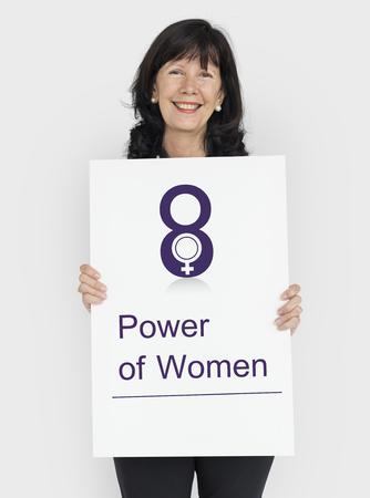 女性の国際的な日のお祝いの概念