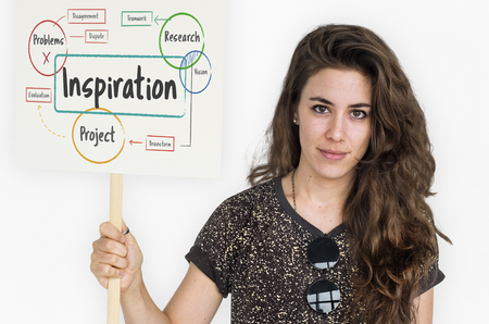Inspiration Aspiration Innovate Creativity Motivate Stock Photo