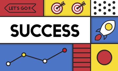성공 개선 목표 성장 단어