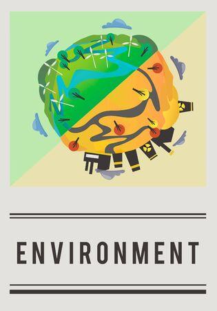 Salva il mondo Terra Earth Concept Archivio Fotografico - 80370105