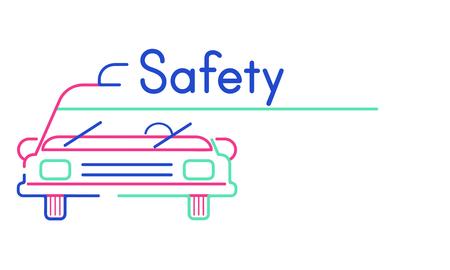 Illustration of automotive car rental transportation Stock Illustration - 80383914