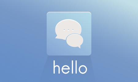 Chat Message Conversation Bubble Graphic