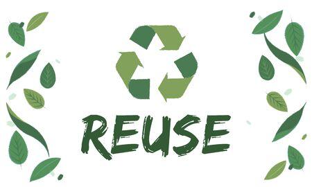 Relax responsabilité croissance réutiliser icône Banque d'images - 80370277