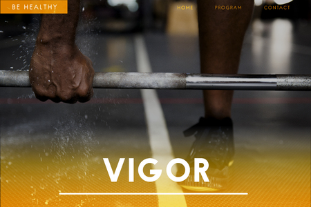 Vigor concept with background 스톡 콘텐츠