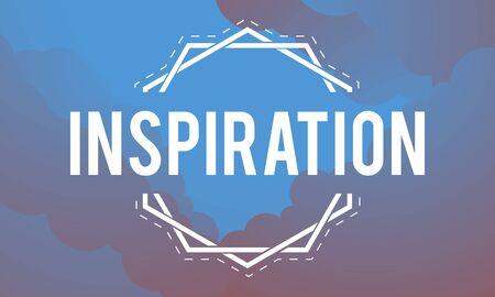 Inspiration Fresh Ideas Dream Word Stock fotó