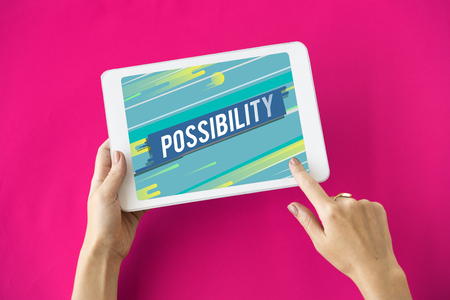 Possibility Desirable Feasible Probability Icon Banco de Imagens