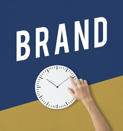 Brand Advertising Business Strategy Icon 版權商用圖片