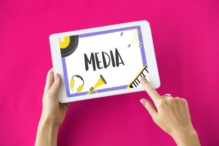 Digital media music streaming audio leisure