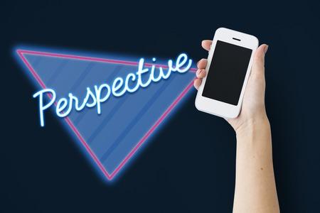 視点のアプローチ ビュー Word 写真素材