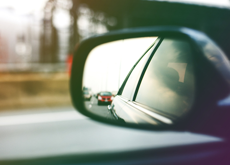 Auto Side Mirror Traffic View Travel