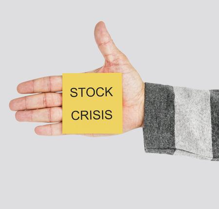 Stock Crisis Finance Loss Concept Stock Photo