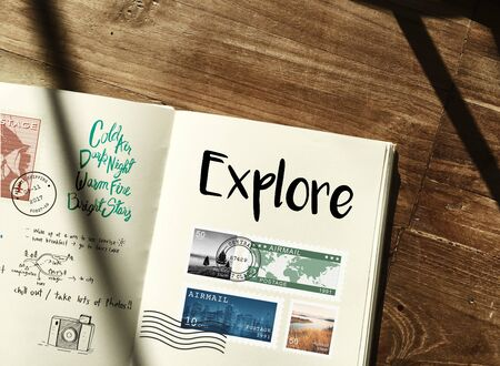 discover: Discover Explore Travel Journey Concept