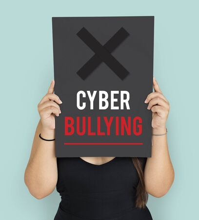 Cyber Bullying Abusement Harassment Trolling Stock Photo