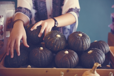 greeen: Pumpkin Greeen Vegetable Fresh Raw