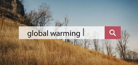 Global Warming Natural Disaster Social Issues Stock Photo