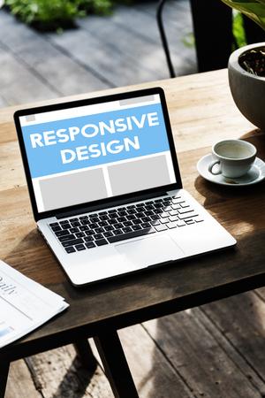 Responsive Design Creativity Layout Development Word