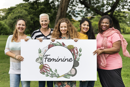 plant stand: Feminine Female Grace Floral Frame