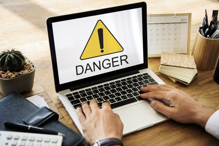 unpredictable: Danger Hazard Risk Unsafe Warning Threat